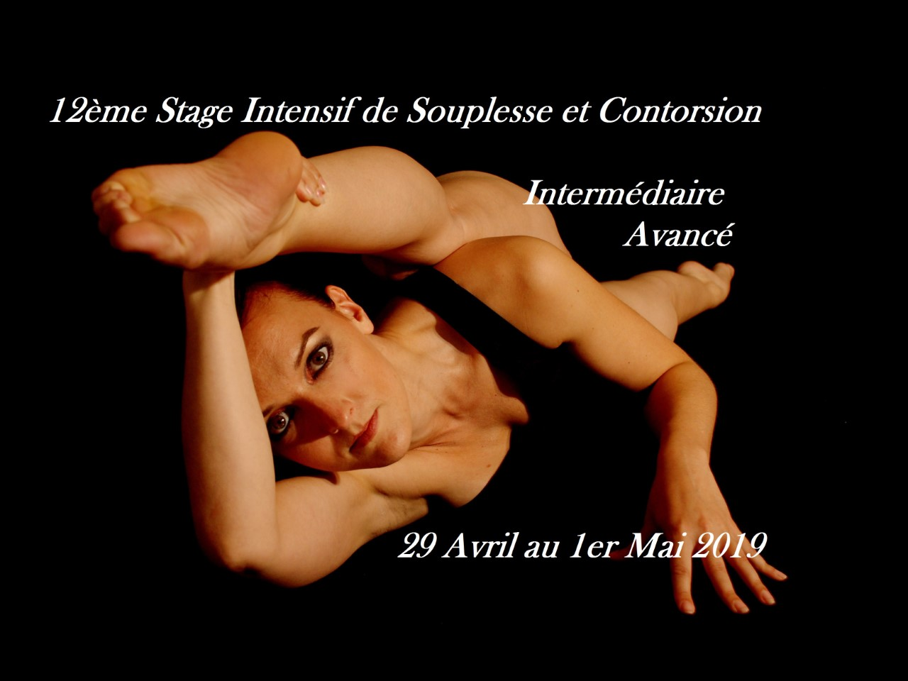 Stage souplesse contorsion avril 2019